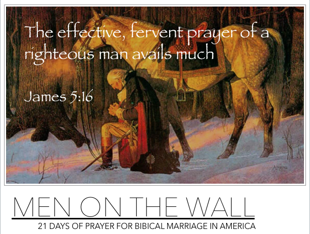 Men On the Wall Prayer Call