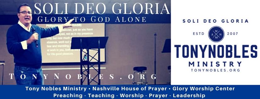 Tony Nobles Ministry FB banner.